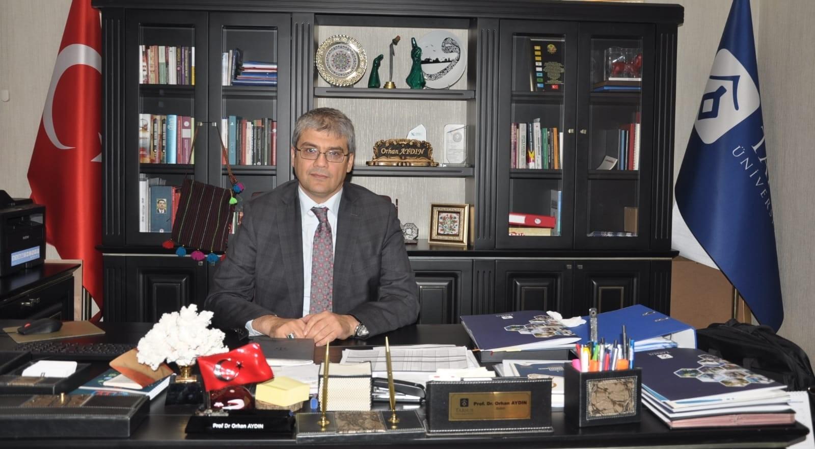 """Rektör Prof. Dr. Aydın: """"Dengeli bir büyüme kaydedip geliştik"""""""