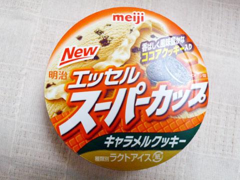 【meiji】 明治エッセルスーパーカップ キャラメルクッキー 【スーパー コープ】