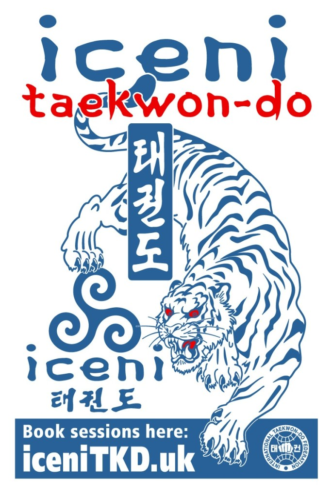 Introducing 'WOAD' our new tiger! He represents the indomitable spirit of the ICENI people, and of our ICENI Taekwon-do!