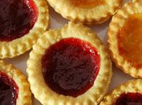Jam & Lemon Curd Tarts - Susie's Favourite Recipes
