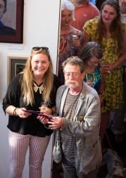 Francesca Perkins holt festival art