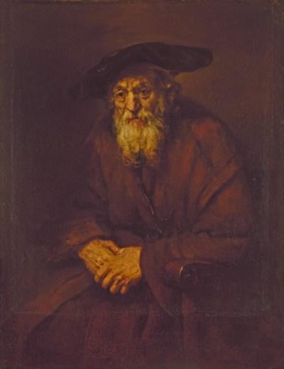 Rembrandt-Harmensz-Van-Rijn-Old-Man-in-an-Armchair