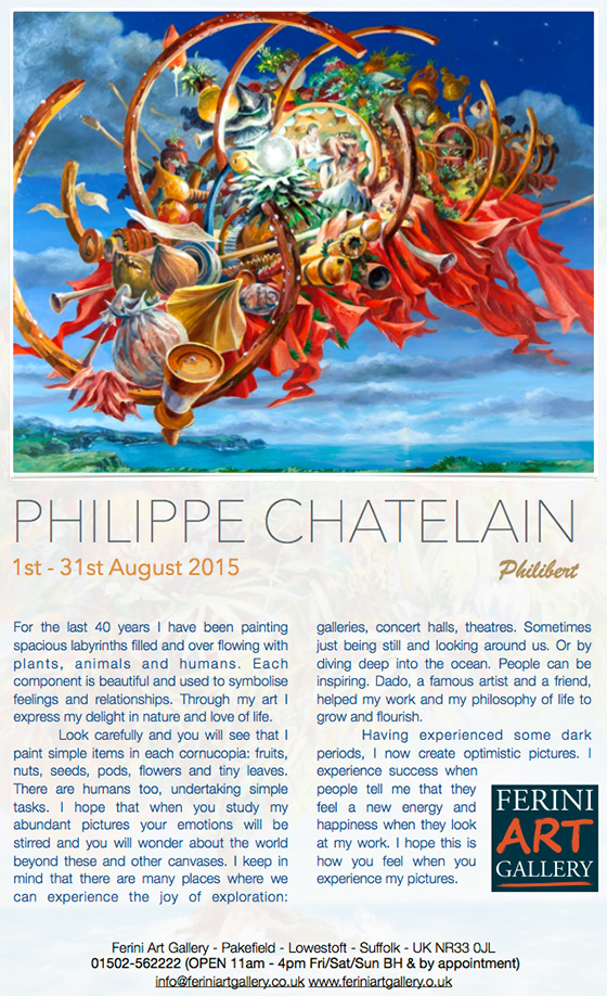 Philippe Chatelain French-Artist