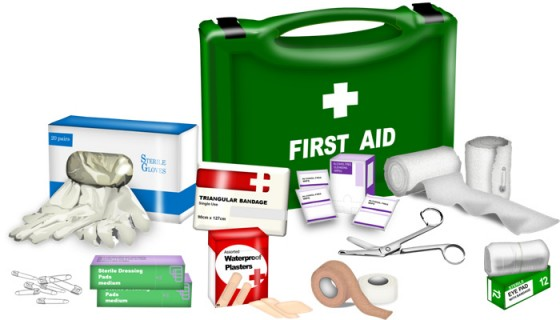 nhs first aid kit