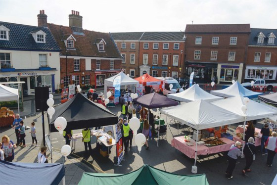 Aylsham Food Festival's 10th anniversary a great success