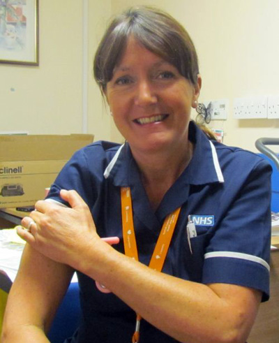 Norfolk's Community NHS Trust are in full swing getting their flu vaccinations