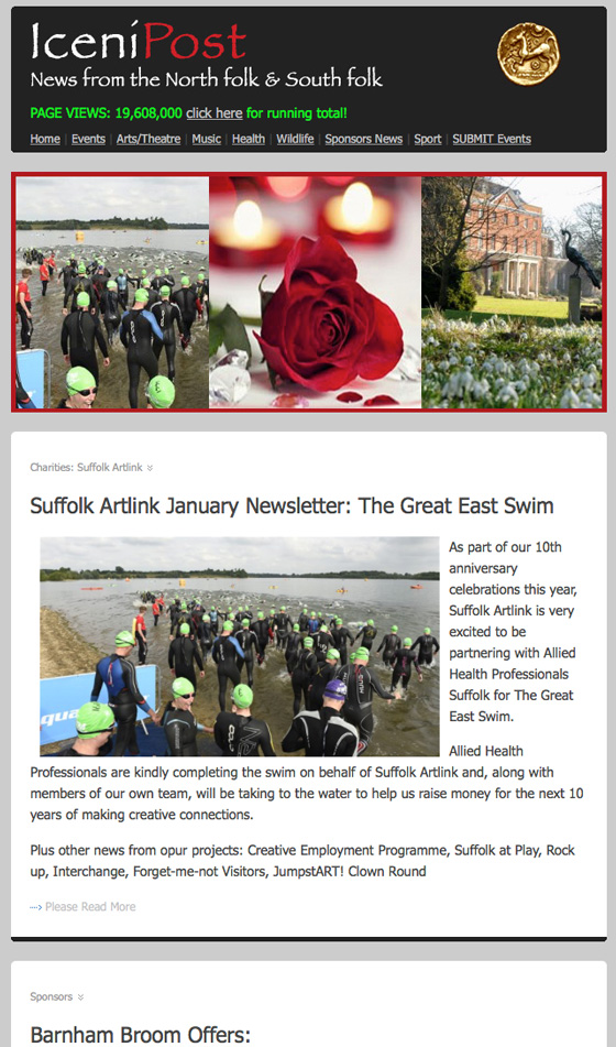 Norfolk and Suffolk News from Iceni Post