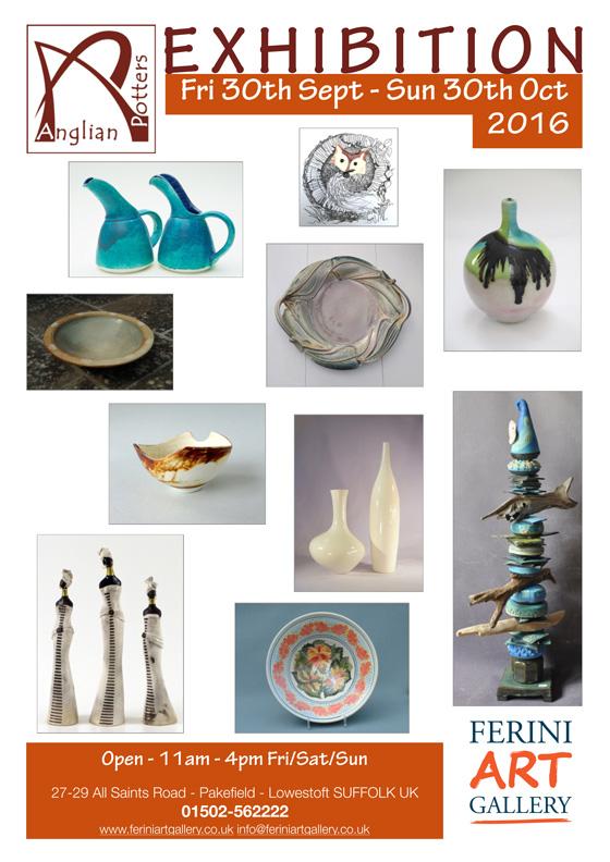 Anglian Potters Art Exhibition