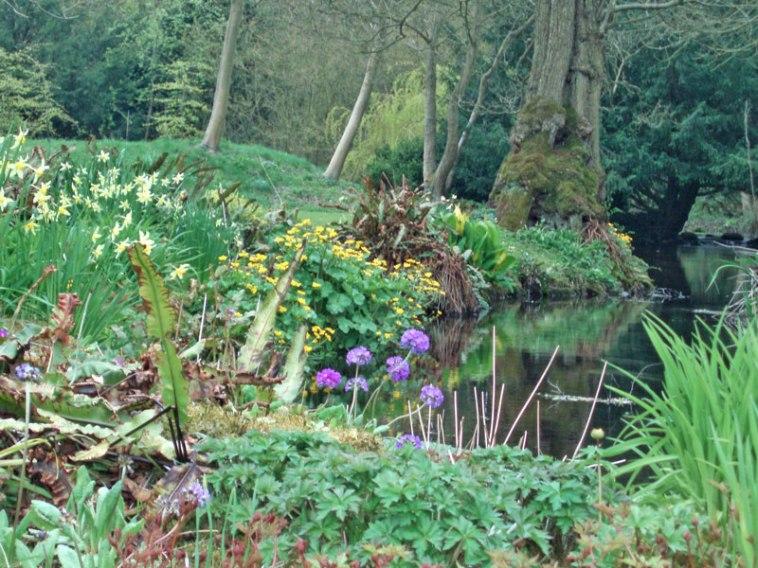 Gayton Hall gardens