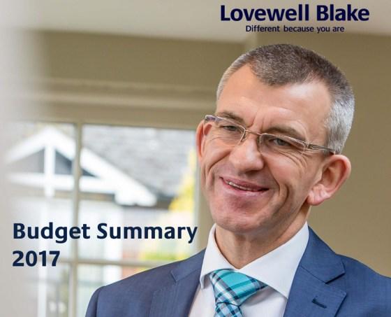 Spring Budget Summary 2017