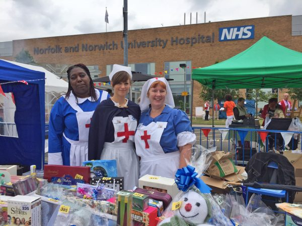 Norfolk and Norwich University Hospital fete