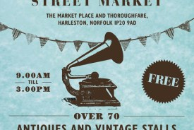 Harleston Antiques market