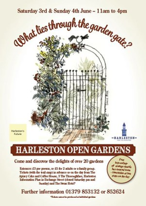 harleston open gardens