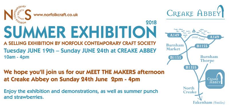 Norfolk Contemporary Craft Society Summer Exhibition