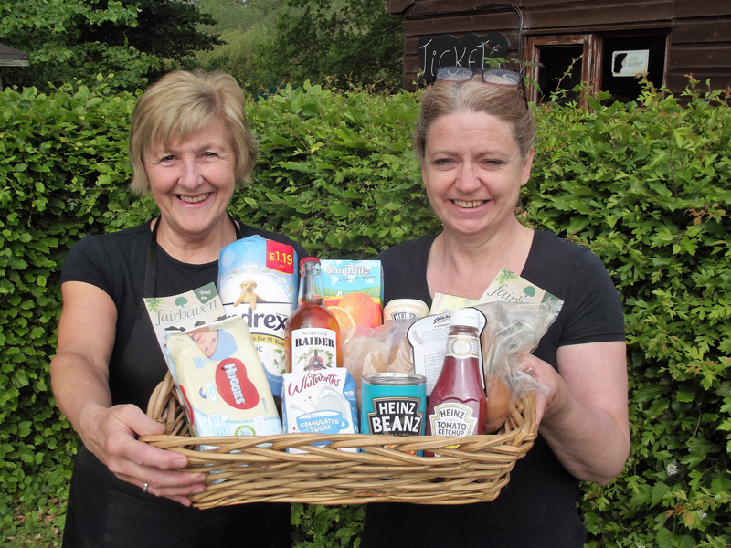 Fairhaven Woodland and Water Garden New 'Essential Essentials' Provisions Shop