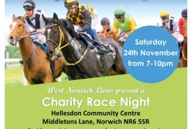 West Norwich Lions Charity Race Night