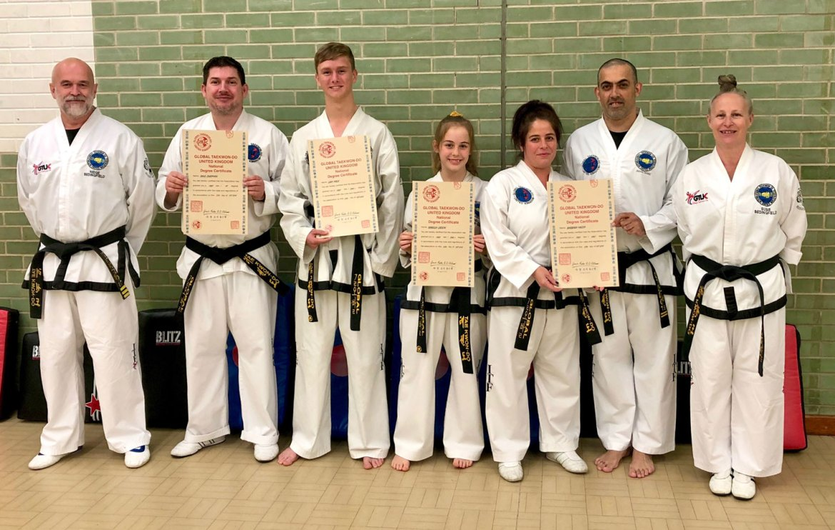 Taekwondo Black Belts