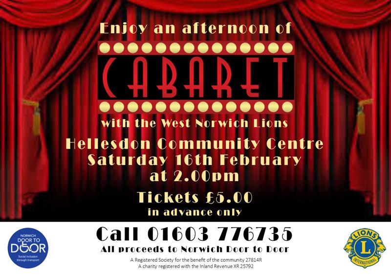 Cabaret afternoon
