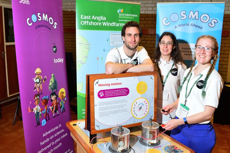 ScottishPower Renewables COSMOS science roadshow