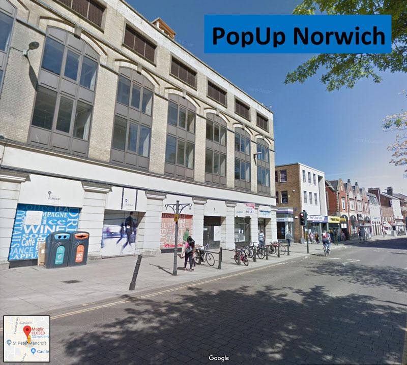 popup norwich