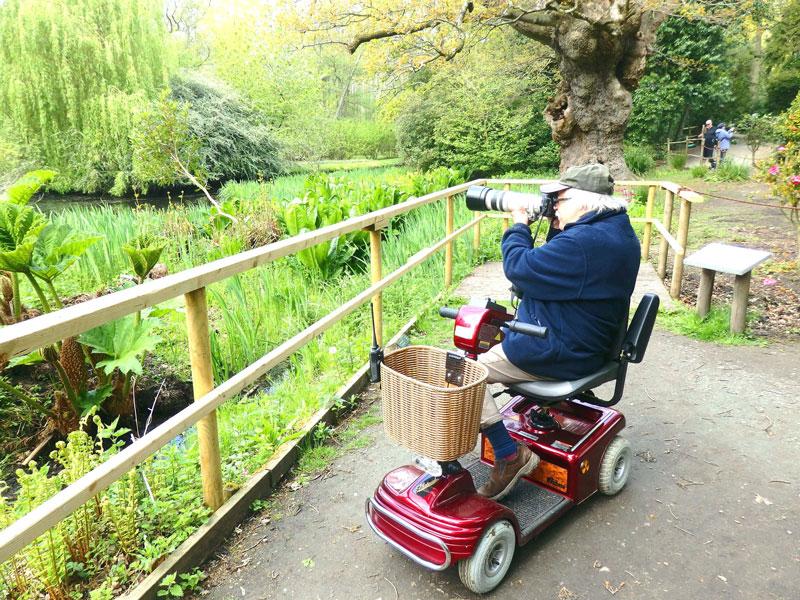 Fairhaven Garden mobility scooter