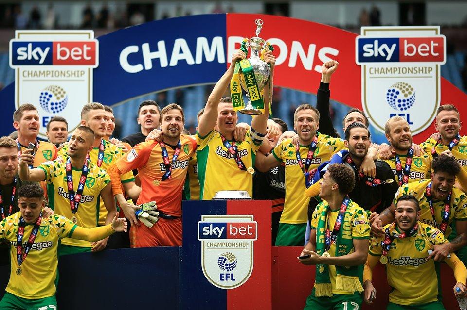 Norwich City Champions!