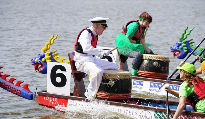 eagerly anticipated East Anglian Dragon Boat Festival