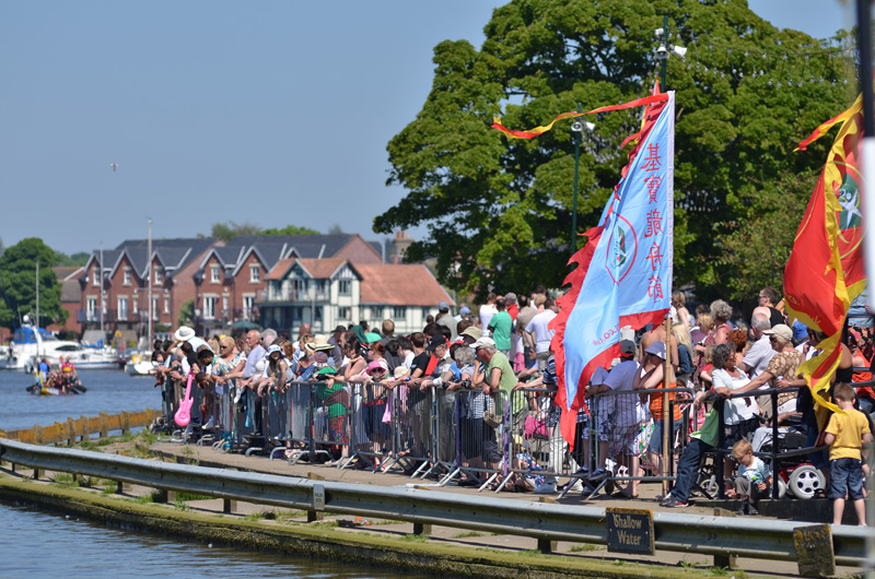 spectacular East Anglian Dragon Boat Festival