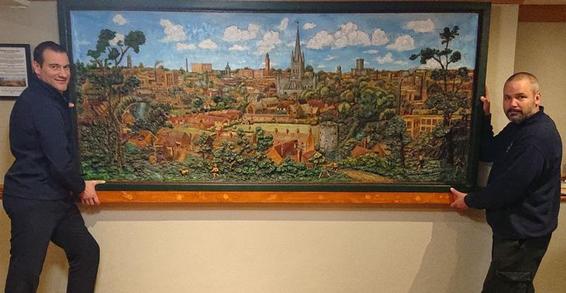 The Norwich Panorama by John Moray-Smith