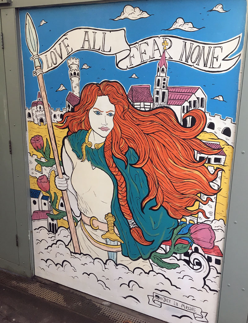Norwich Street Murals