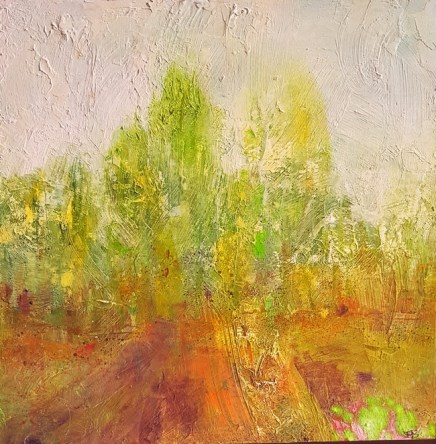 Turning Around, by Hilary Barry Oil on canvas
