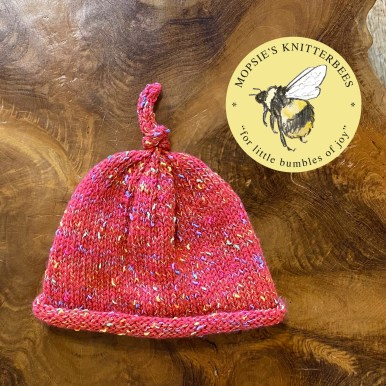 Woodland Spells Handmade Knitted Baby Hat from Mopsie's Knitterbees