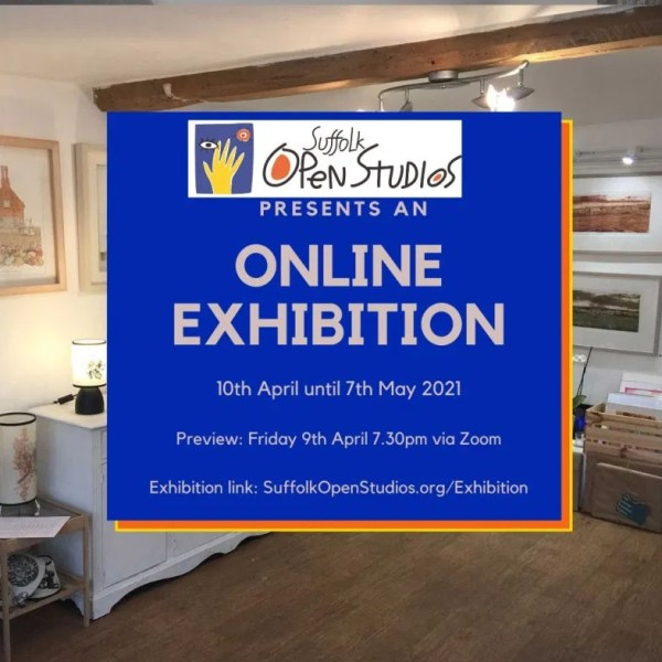 first online exhibition Suffolk Open Studios Partnership
