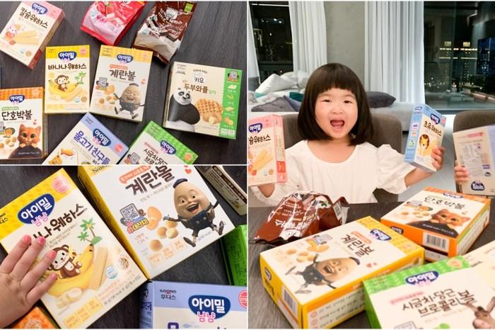 (開團中)日本韓國寶寶餅乾零食大集合!