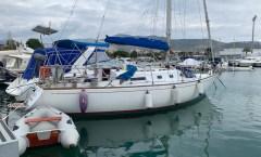 Ships in Lavrio Greece