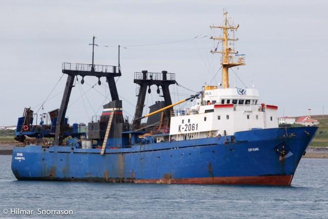 Russian, Trawler, Njarðvík, Sinking, Laid up