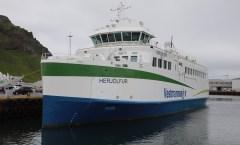 New ferry HERJÓLFUR