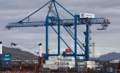 New gantry crane
