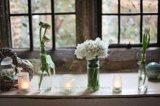 Elegant Spring Wedding Window display
