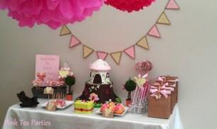Fairy Birthday Party Pink Tea Parties