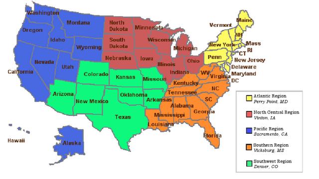 nccc-region-map