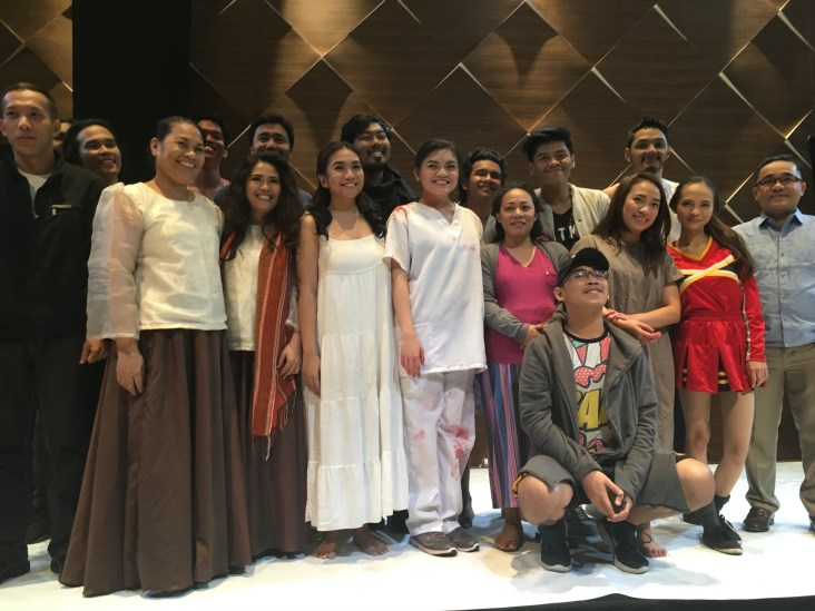 The Cast of Si Edgar, si Allan at si Art