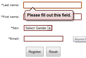 HTML5 Form Validation Quirks: Opera, Chrome And Firefox (6/6)