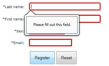 HTML5 Form Validation Quirks: Opera, Chrome And Firefox (5/6)