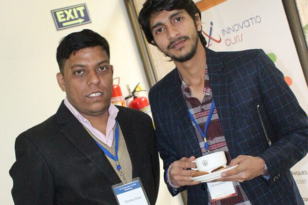 Shivank-Khandelwal-and-Sanjay-Gaur-from-InnovatioCuris-at-IC-InnovatorCLUB-second-meeting