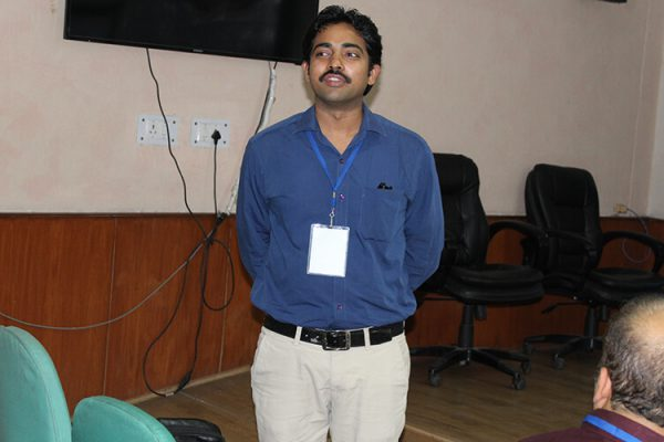 7 Dr. Satya Pavan Kumar Varma Chekuri at IC InnovatorClub Fifth Meeting