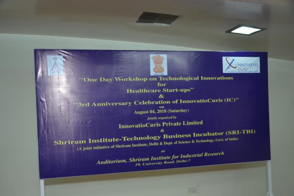 1. InnovatioCuris celebrations at Shreeram Institute for Industrial Research