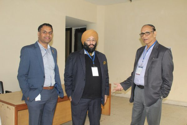 Dr. Vibhor Gupta, Dr. Harpal Singh Malhotra and Dr. VK Singh at IC InnovatorCLUB Meeting at IIT Delhi