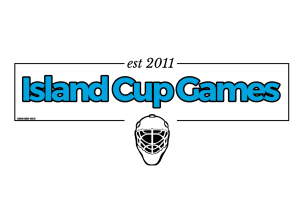Island Cup Games goalie mask