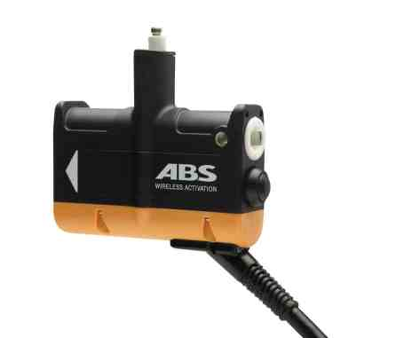 Wireless Auslösegriff, Foto: ABS Avalanche Airbag
